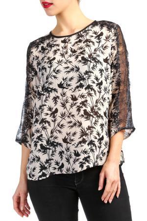 Блуза Ada Gatti. Цвет: черный