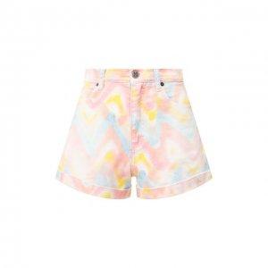 Джинсовые шорты M Missoni. Цвет: разноцветный