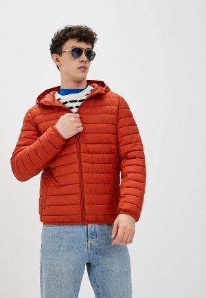 Куртка утепленная Jorg Weber. Цвет: красный
