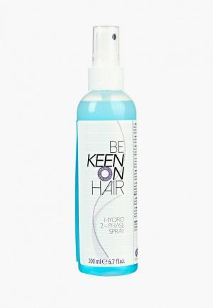 Спрей для волос Keen увлажняющий 2-х фазный, 200 мл. Цвет: прозрачный