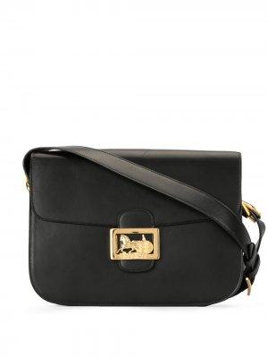Сумка через плечо с логотипом Céline Pre-Owned. Цвет: черный