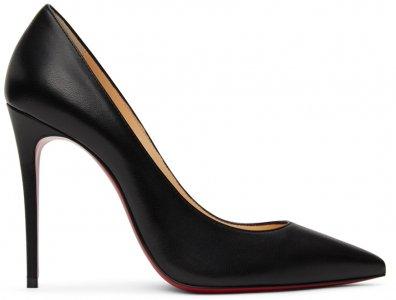 Black Nappa So Kate 100 Heels Christian Louboutin. Цвет: bk01 black
