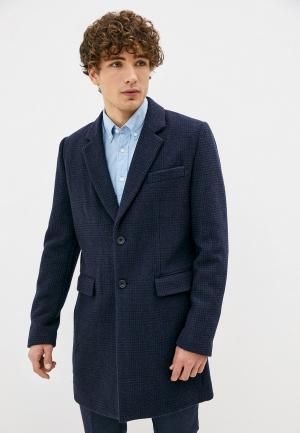 Пальто French Connection. Цвет: синий