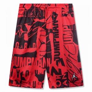 Printed Mesh Shorts Jordan. Цвет: красный