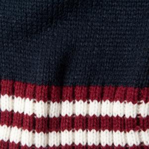 Комплект из шапки и шарфа синего белого цветов LA REDOUTE COLLECTIONS. Цвет: синий/белый