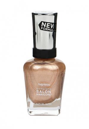 Лак для ногтей Sally Hansen Complete Salon Manicure, 216 You Glow, Girl!, 14 мл. Цвет: золотой
