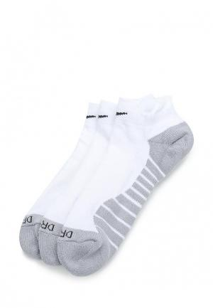 Комплект Nike Womens Dry Cushion Low Training Sock (3 Pair). Цвет: белый