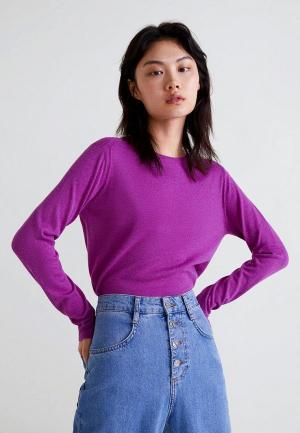 Джемпер Mango - LUCCA3. Цвет: фиолетовый