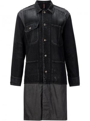Джинсовая куртка Mihara Yasuhiro. Цвет: чёрный