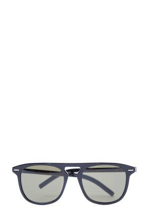 Очки с оправой Wayfarer черного цвета и ультратонкими стеклами DIOR (sunglasses) men. Цвет: none