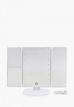 Зеркало настольное Camelion M-217DL. Цвет: белый