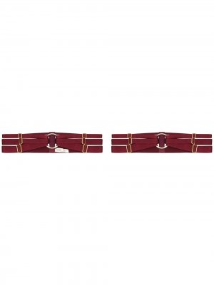Два пояса-портупеи Merida Bordelle. Цвет: красный
