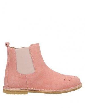 Полусапоги и высокие ботинки BISGAARD. Цвет: розовый