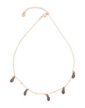 Ожерелье SWAROVSKI. Цвет: медный
