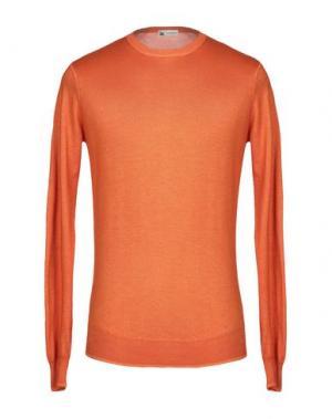 Свитер COLOMBO. Цвет: оранжевый
