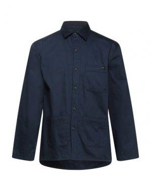 Куртка EDWIN. Цвет: темно-синий