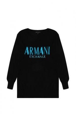 Джемпе ARMANI EXCHANGE. Цвет: черный