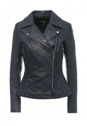 Куртка кожаная Arma AR020EWQOF39. Цвет: синий