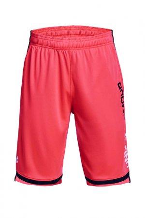 Шорты Ua Stunt 3.0 Shorts Under Armour. Цвет: красный