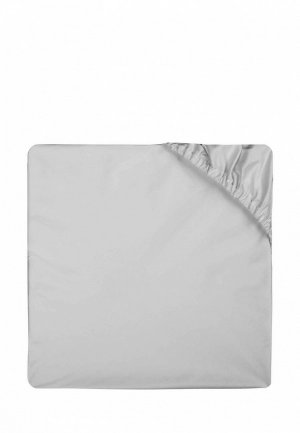 Простыня 2-спальная Bellehome Silver, 180х200x20 см