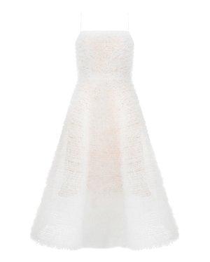 Платье SS19-027 40/42 белый Alina German. Цвет: белый