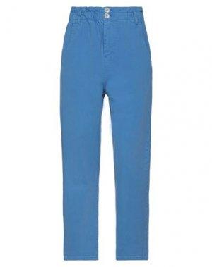 Джинсовые брюки DIXIE. Цвет: лазурный