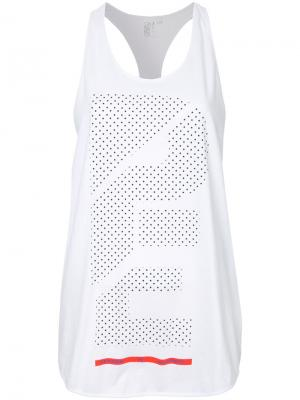 Branded tank top P.E Nation. Цвет: белый