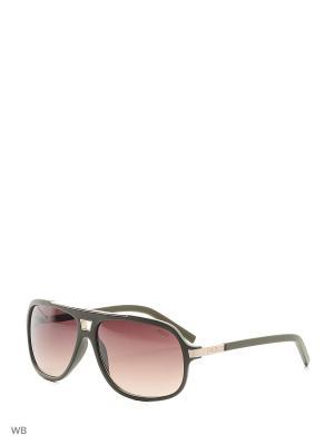 Солнцезащитные очки GU 6788 К41 KHK-34 GUESS. Цвет: зеленый