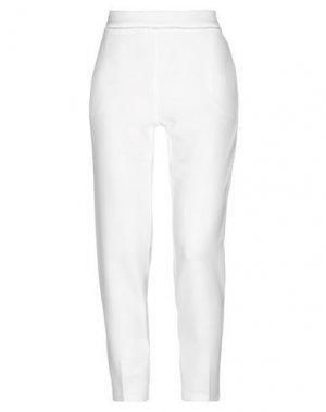 Повседневные брюки ANNARITA N. Цвет: белый