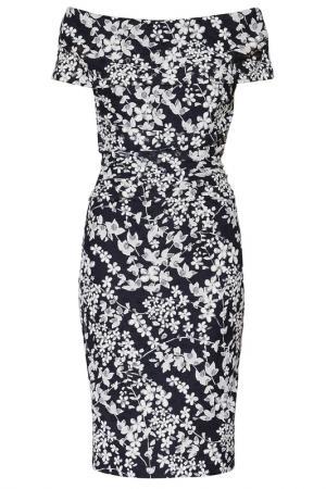 Платье Gina Bacconi. Цвет: navy, white