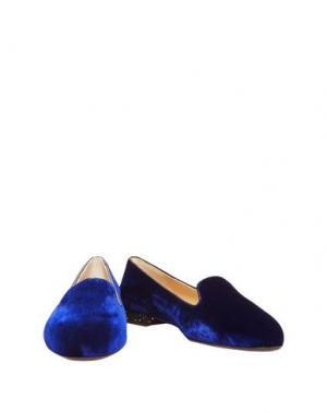 Мокасины FRENCH SOLE. Цвет: темно-синий
