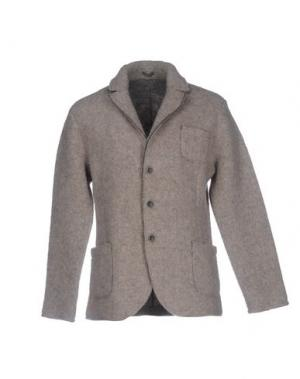 Пиджак BELLWOOD. Цвет: голубиный серый