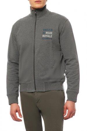Куртка спортивная Cerruti. Цвет: серый