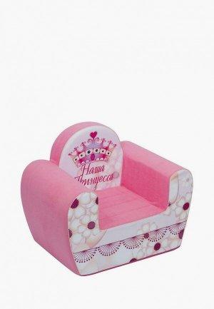 Игрушка мягкая Paremo Игровое кресло серии Инста-малыш, Наша Принцесса. Цвет: розовый