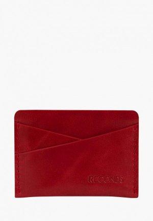Визитница Reconds Pocket. Цвет: красный