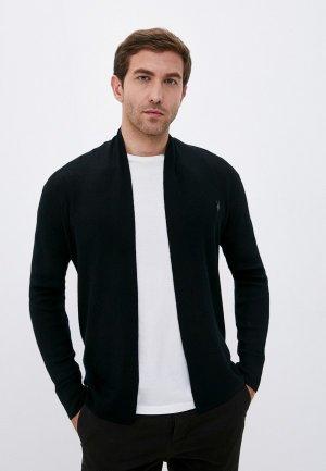 Кардиган AllSaints. Цвет: черный