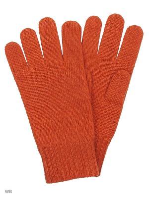 Перчатки United Colors of Benetton. Цвет: оранжевый