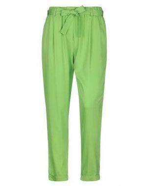 Повседневные брюки KI6? WHO ARE YOU?. Цвет: светло-зеленый