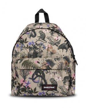 Рюкзаки и сумки на пояс EASTPAK. Цвет: хаки