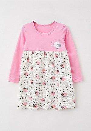 Платье КотМарКот. Цвет: розовый