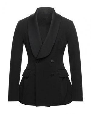 Пиджак ERMANNO SCERVINO. Цвет: черный