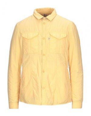 Куртка GEOSPIRIT. Цвет: желтый