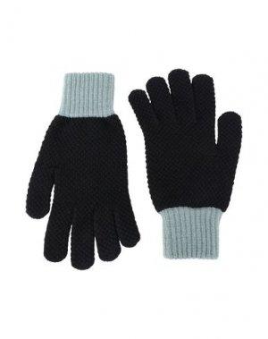 Перчатки JO GORDON. Цвет: черный