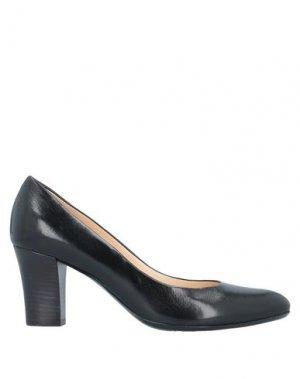 Туфли LORENZO MASIERO. Цвет: черный