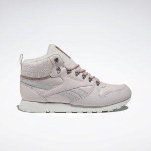 Ботинки Classic Leather Arctic Reebok. Цвет: glass pink / chalk / classic pink