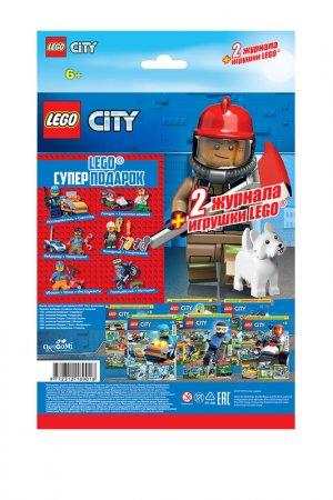 Журнал LEGO City. Цвет: белый