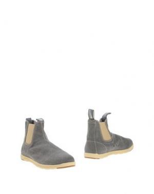 Полусапоги и высокие ботинки BLUNDSTONE. Цвет: серый