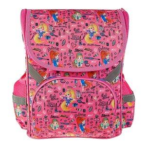 Ранец стандарт winx, 35 х 26.5 13 см, для девочки, розовый WINX