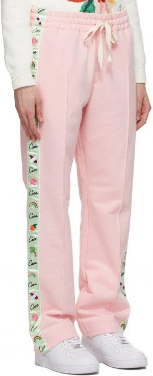 Pink Après Surf Lounge Pants Casablanca. Цвет: pink