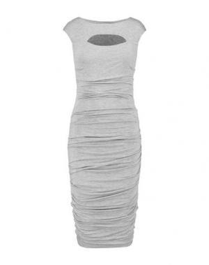 Платье до колена BAILEY 44. Цвет: светло-серый